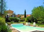 Holiday rental cham pool - Gargas - Lagniappe - Luberon Provence