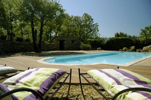 Country house with heated pool for 8 people - Luberon