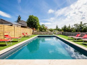 Holiday rental pool - Reillanne - Location Saranda - Luberon Provence
