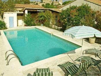Holiday rental pool - Maubec - Le Tournesol - Luberon Provence