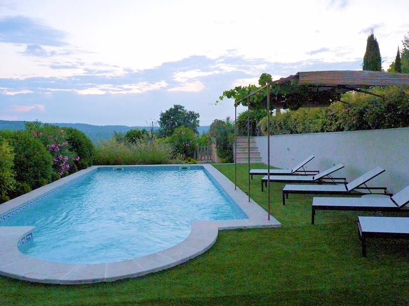 Country house charm pool - Goult - La bastide du Gens - Luberon Provence