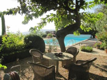 Cottage with heated pool for 2 people in Gordes