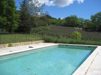 Provencal farmhouse with pool in Lourmarin in south Luberon