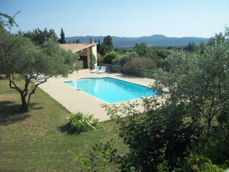 Holiday home pool - Lauris - Villa Bellevue - Luberon Provence