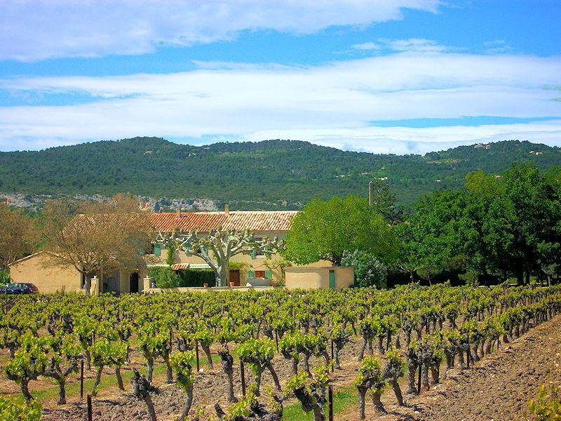 Rural accommodation near Gordes in the Luberon