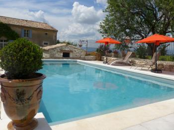 Seasonal hire pool - Bonnieux - La Magnanerie - Luberon Provence